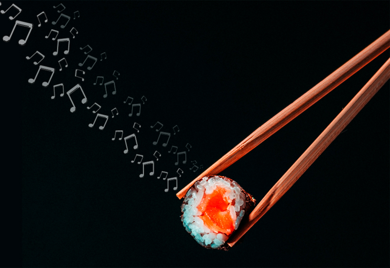 Música para hacer sushi 🎶🍣